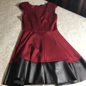 The vintage shop small red black dress